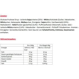Enervit Sport Protein 26% Bar Sacoche 25x40g, Coco Choc